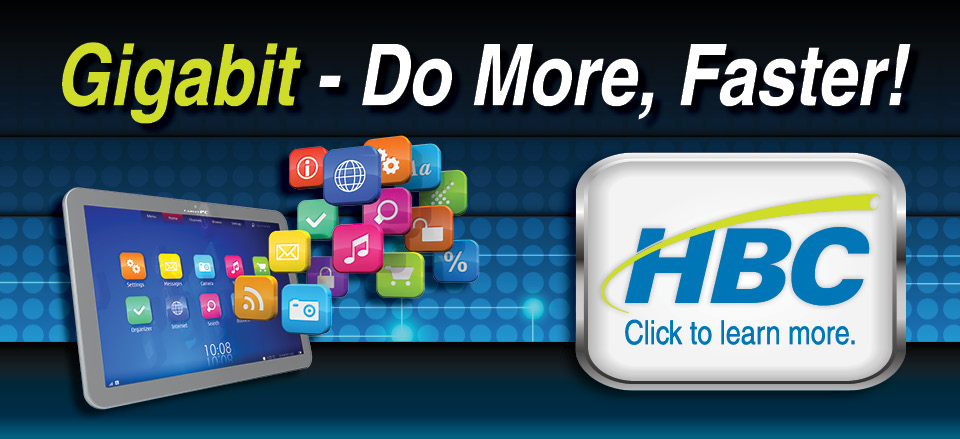 3 Gigabit Internet Web Banner