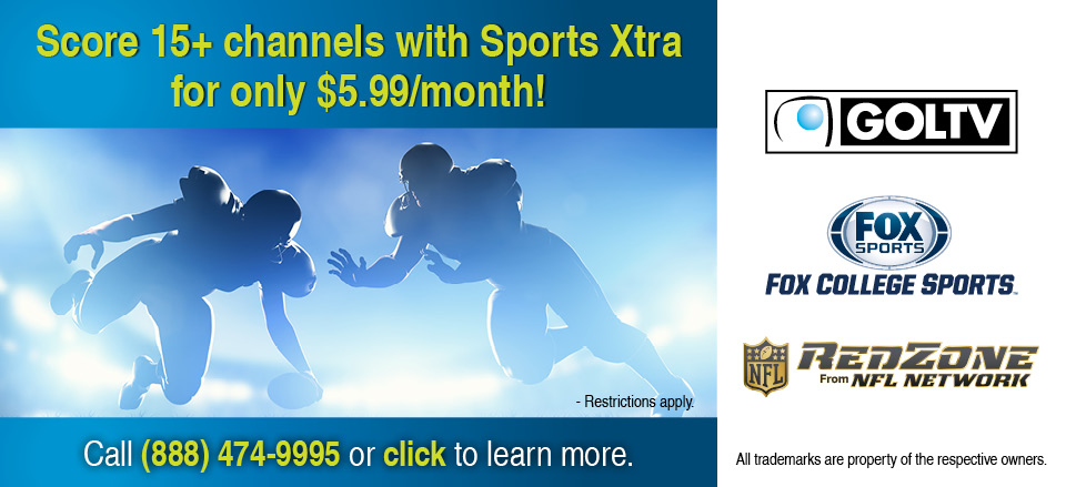 4 Sports Xtra Web Banner