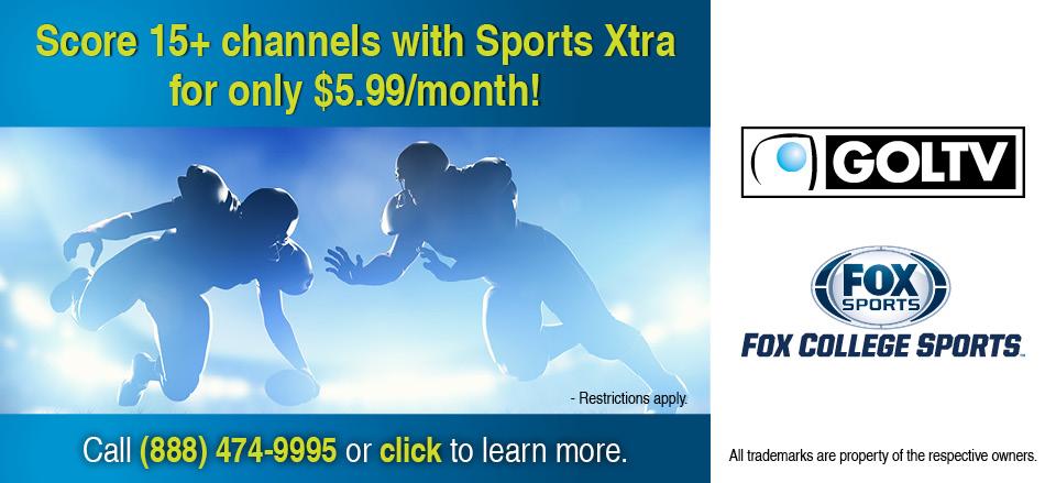 2 Sports Xtra Web Banner