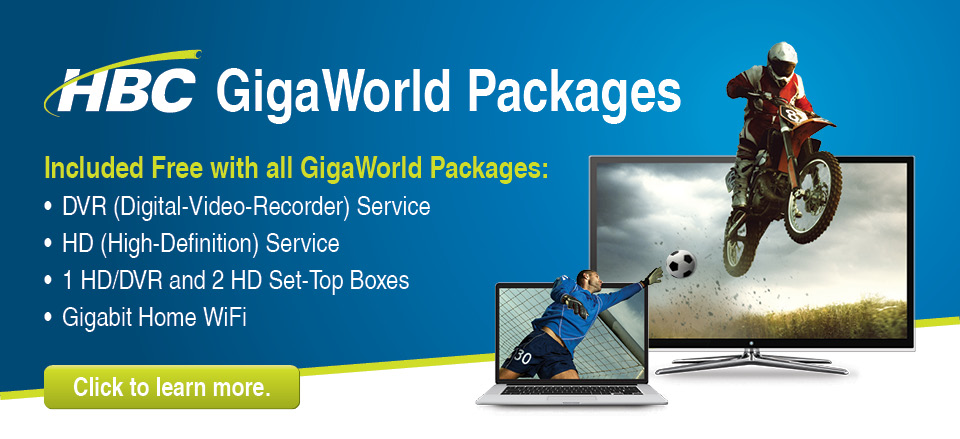 6 Giga Packages Web Banner