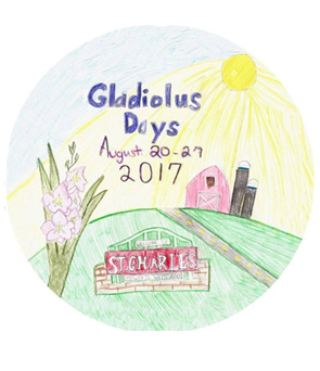 St. Charles Gladiolus Days Pageant (August 21, 2017)