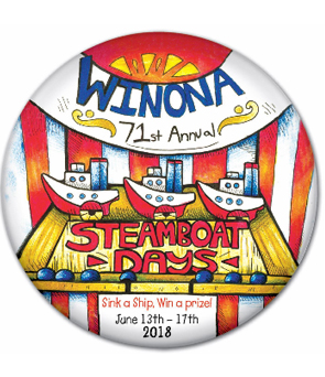 Winona Steamboat Days Kiddie Parade, Grande Parade & Fireworks (June 17, 2018)