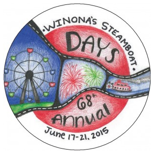 Winona Steamboat Days Grande Parade (June 21, 2015)