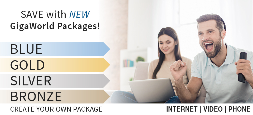 6 GigaWorld Packages