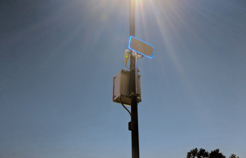 HBC High Density Wifi Installed at the Treasure Island